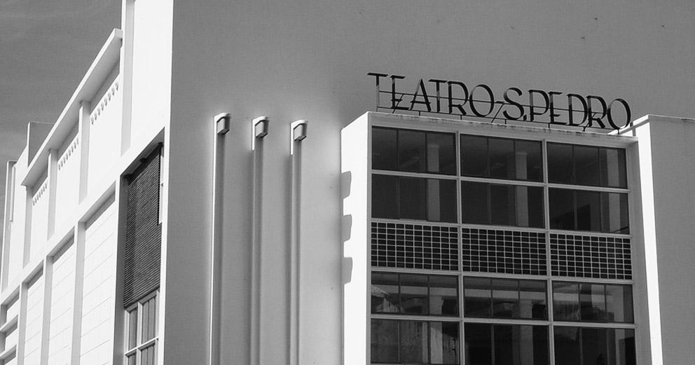 Cineteatro São Pedro - Vista exterior