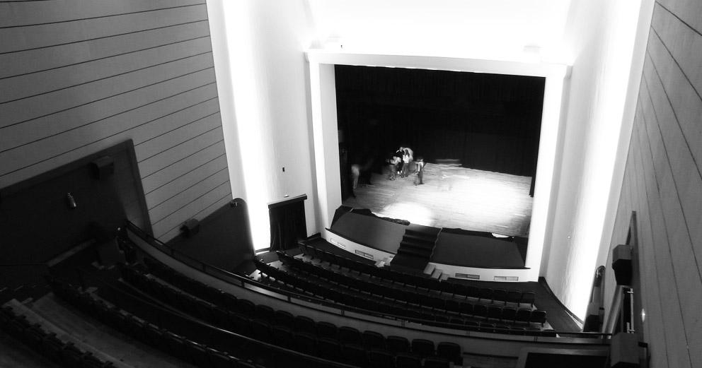 Cineteatro São Pedro - Vista do 2.º balcão