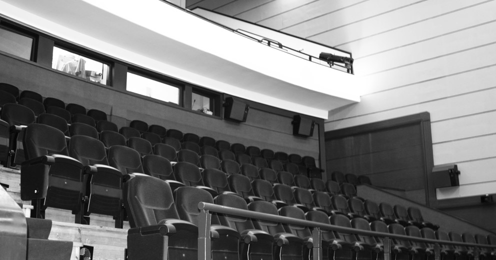 Cineteatro São Pedro - Vista do 1.º Balcão