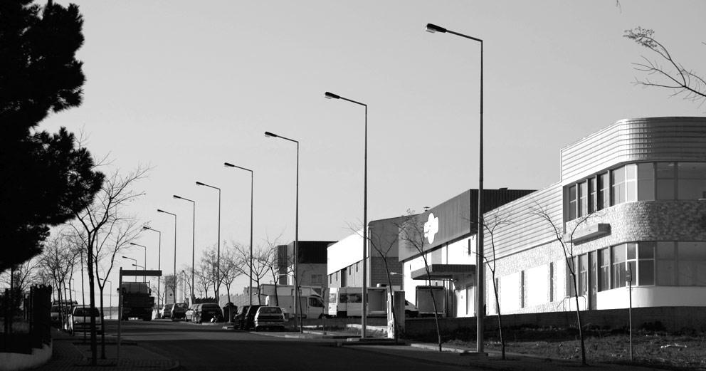 Parque industrial de Abrantes