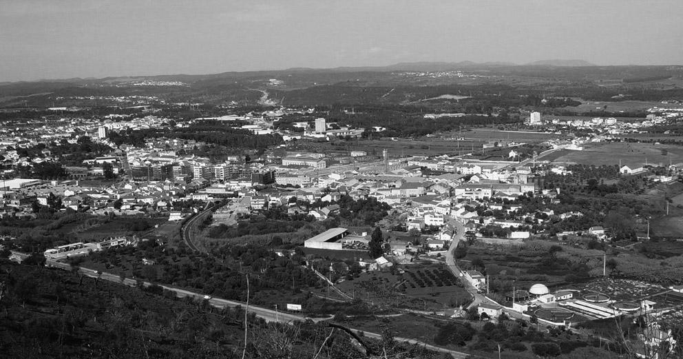 Vista panorâmica de Alferrarede