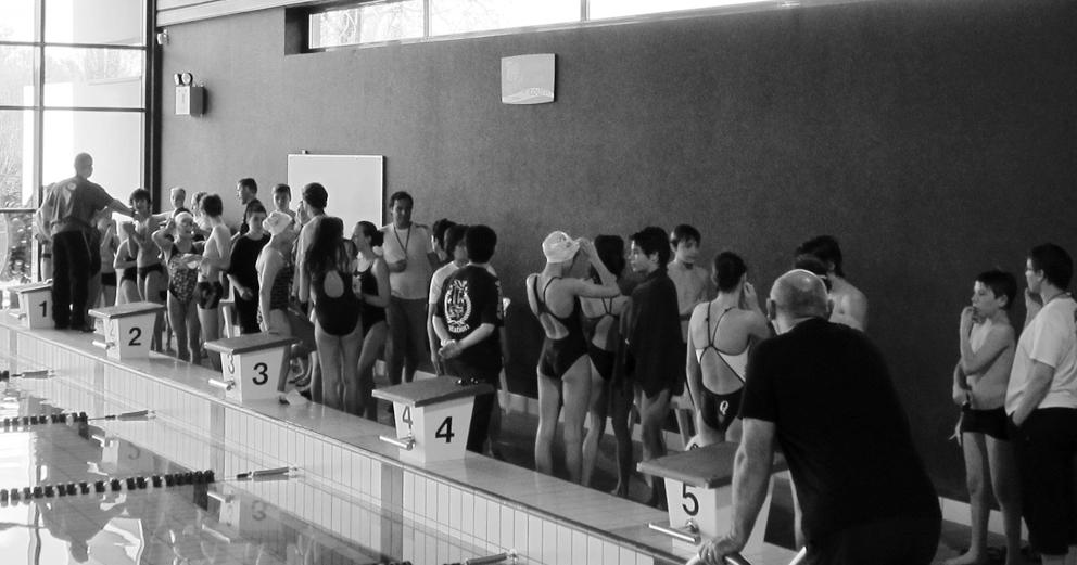 prova de natação - Abrantes em Parthenay